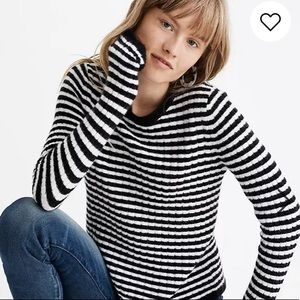 Madewell colette sweater in leamore stripe